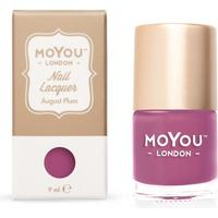 MoYou London Stamping Nail Polish August Plum 9ml