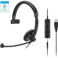 Sennheiser SC 45 USB Headset MS Sort (507083)