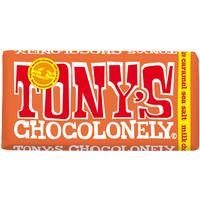 Tony's Chocolonely Milk Chocolate Caramel Seasalt