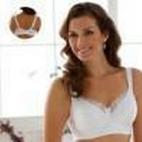 Miss Mary of Sweden Elegant Underwired Bra White (2380)