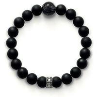 Thomas Sabo Rebel At Heart Armband - Obsidian