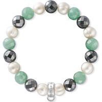 Thomas Sabo Charm Club Armband - Grön