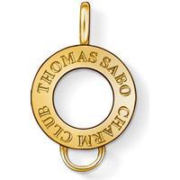 Thomas Sabo Charmsögla - Guld - 1.3 cm