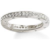 Thomas Sabo Classic - Ring med Vita Stenar - Silver