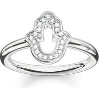 Thomas Sabo Glam & Soul Ring Fatima'S Hand 54 - Silver