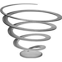 Excel Spiral skÅl (bØrstet stÅl)