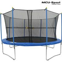 MCU-Sport Classic Plus Trampoline + Safety Net 370cm