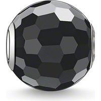 Thomas Sabo Thomas Sabo Karma Pärla Obsidian Faceted 1.0cm