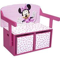 Delta Children Minnie Mouse 3-in-1 Storage Bench & Desk