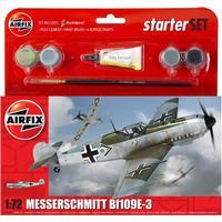 Airfix Messerschmitt Bf109E 3 Starter Set A55106