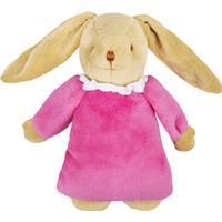 Trousselier Musical Bunny Fluffy Fuchsia Fleece 25cm