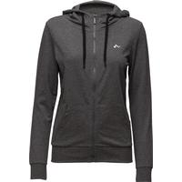 785e25a1187c Only Onplina Zip Hood Sweat - Opus - Dark Grey Melange (15103828)