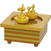 Trousselier Musical Wooden Box Giraffe