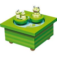 Trousselier Musical Wooden Box Frog
