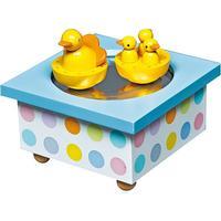 Trousselier Musical Wooden Box Duck