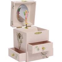 Trousselier Musical Box Fairy Cherry Flower Fairies Figurine Fairy