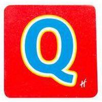 Hamleys Wooden Letter Q
