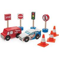 Le Toy Van Road Set Route & Toot New
