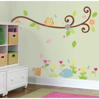 RoomMates Scroll Tree Branch Wall Decals