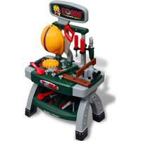 vidaXL Children's Playroom Toy Workbench with Tools