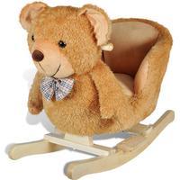 vidaXL Gunghäst teddybjörn