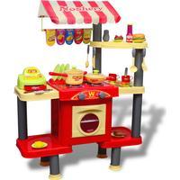 vidaXL Large Kid or Children Playroom Toy Kitchen