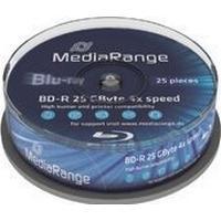 MediaRange BD-R 25GB 4x Spindle 25-Pack