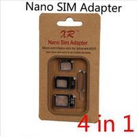 Simkortadapter 4-i-1 Nano-Micro-Sim Iphone