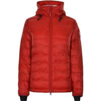 Canada Goose Camp Hooded Jacket Red/Black