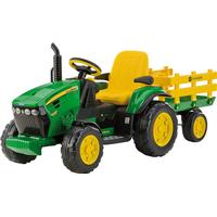 John Deere 12 V Ground Loader W Trailer