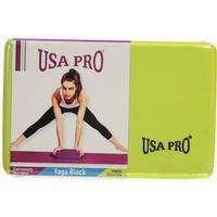 USA Pro Yoga Block Lime