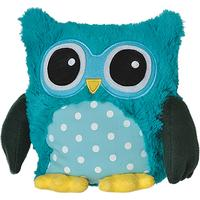 Warmies Owl Aqua