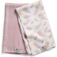Elodie Details Bamboo Muslin Blanket Feather Love