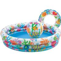 Intex 3 Ring Pool Set Fishbowl