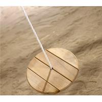 Jabo Round Wooden Swing