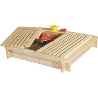 Jabo Sandpit with Lid 120x120cm 3303