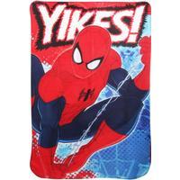Marvel Ultimate Spiderman Childrens Boys Yikes Fleece Blanket