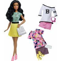 Mattel Barbie Fashionistas 34 B-Fabulous Doll & Fashions Original