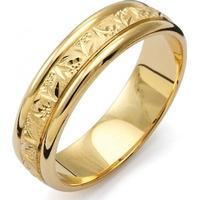 Flemming Uziel Fantasy Gold Ring (7343)