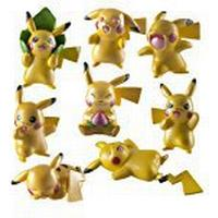 Pokémon Pokemon T18725 20th Anniversary Special Edition Pikachu Mini Figures (Pack of 4)