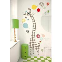 Littlephant Giraffe Measuring Ruler Wall Sticker
