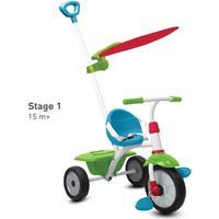 SMARTRIKE Smart Trike ® Trehjuling Fun Plus, blå/grön