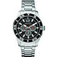 Nautica Men's Quartz Watch A15656G with Metal Strap