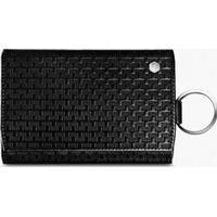 Pen Shop Caran d'Ache Type 55 Leather Key Holder Black