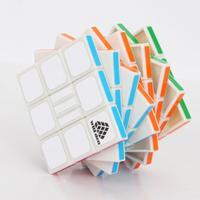 Rötsel IQ Test II Rubiks Zauberei ööWürfel Puzzle Spielzeug Weiö