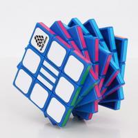 Rötsel IQ Test II Rubiks Zauberei ööWürfel Puzzle Spielzeug Blau