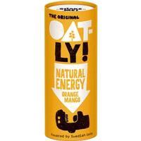 Oatly Natural Energy Orange and Mango