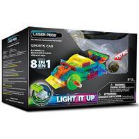 Laser Pegs Sportsvogn