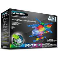 Laser Pegs MPS Helicopter