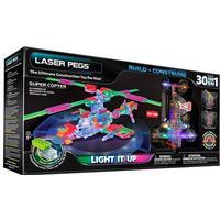 Laser Pegs Super Copter